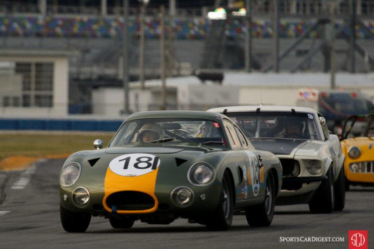 Robert Rawe, 63 Aston Martin DP214