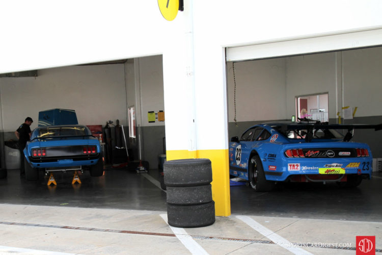 Curt Vogt's HSR and Trans Am Mustangs.