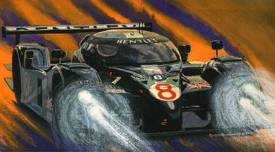 Bentley Eight Le Mans winner