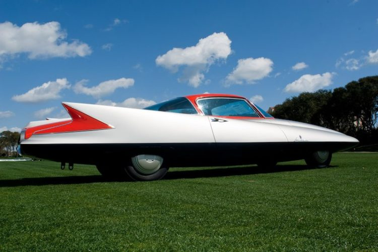 Ghia Streamline Turbine Car 'Gilda' - Scott Grundfor and Kathleen Redmond