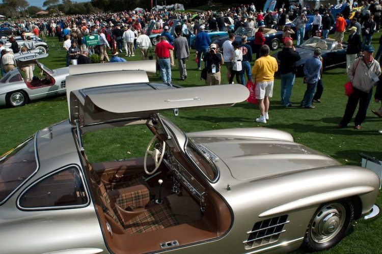 1955 Mercedes-Benz 300SL Gullwing Coupe - Leo and Lisa Schigiel