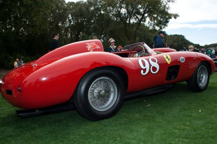 1955 Ferrari 410 Sport - Roger Willbanks