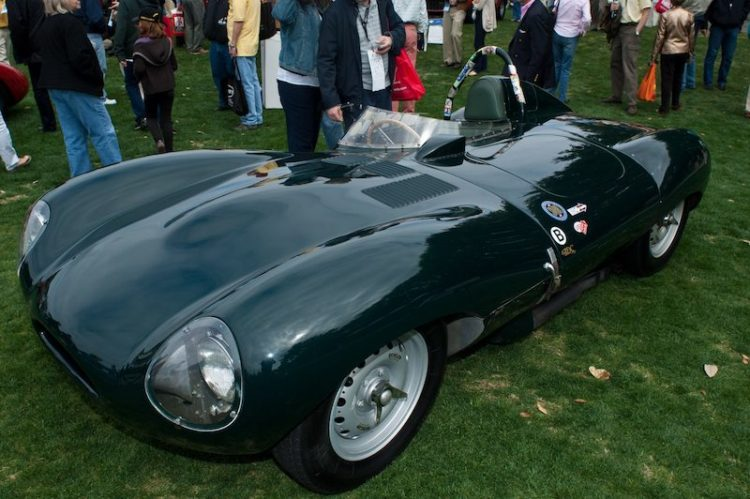 1955 Jaguar D-Type XKD521 - Tom Mittler