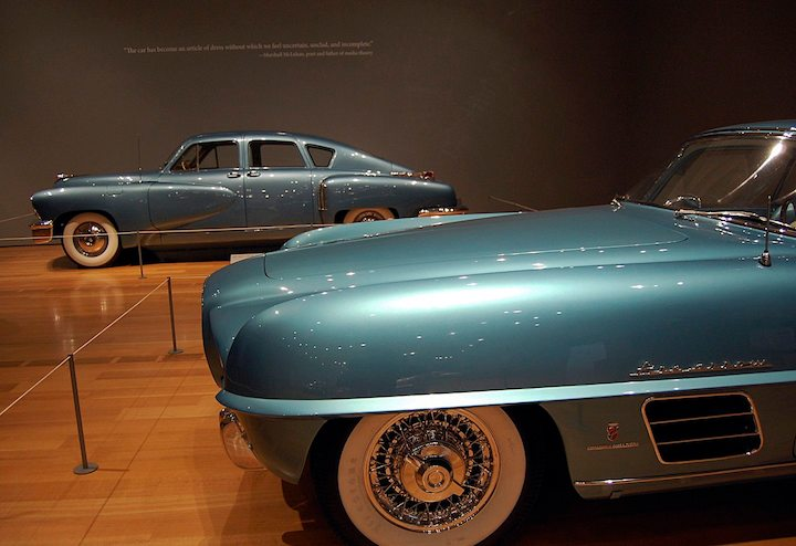 1954 Dodge Firearrow III Concept Coupe and 1948 Tucker Model 48 Torpedo