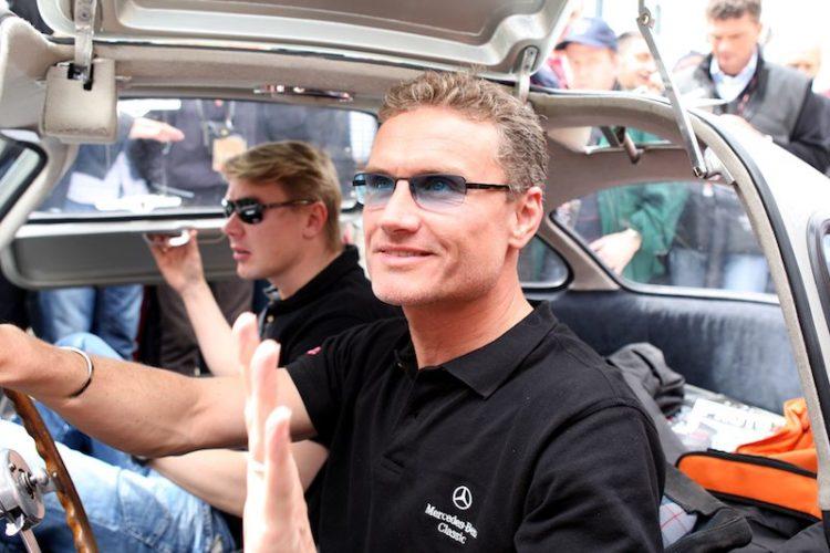 David Coulthard and Mika Hakkinen