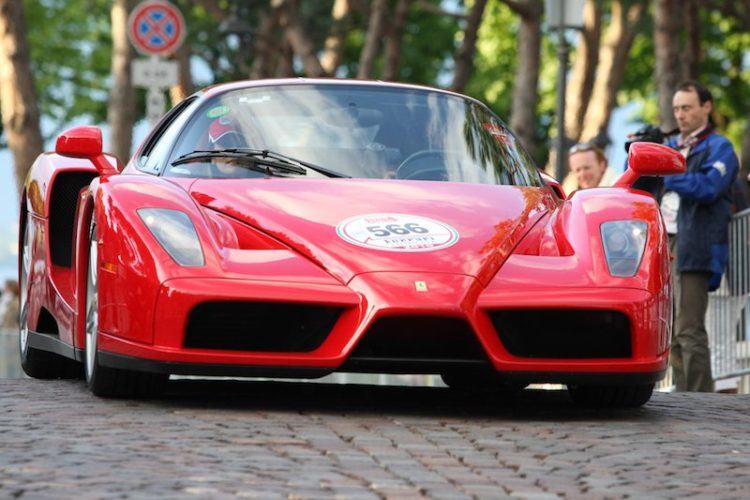 Ferrari Enzo from Ferrari Tribute parade