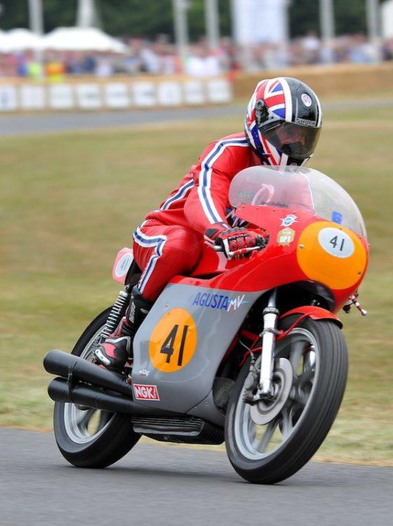 Vintage GP Motorcycle