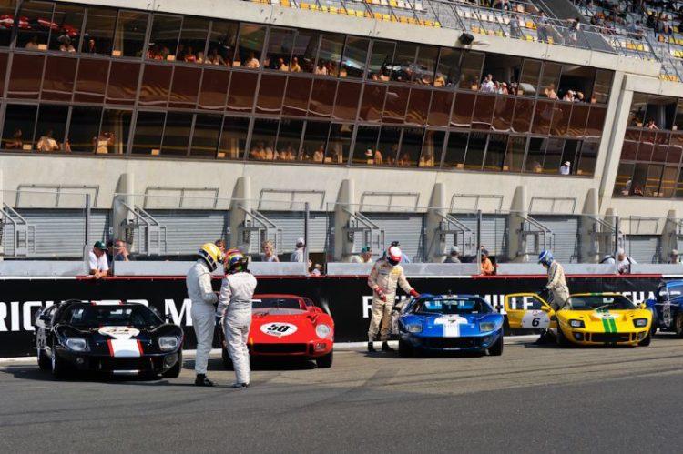 On Grid GT40 Ferrari 275