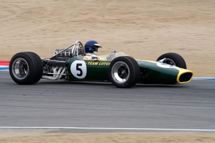 1967 Lotus 49 Formula One driven by Chris MacAllister.