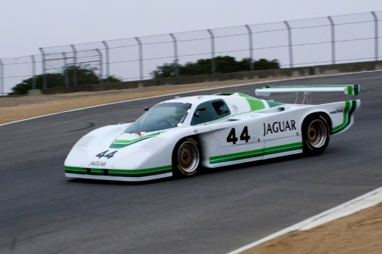 Rick Knoop in his Jaguar XJR5.