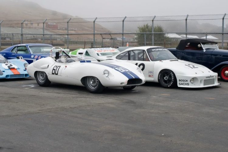 Trans-Am Mustang, Lister Jaguar, Porsche 935 and 917 and a '32 Ford.