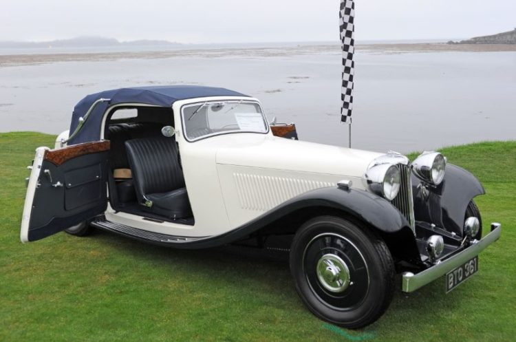 1935 S.S. 1 Drop Head Coupe, Albert and Maria Gayson
