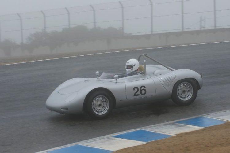 1959 Porsche RSK driven by Joe Lacob.