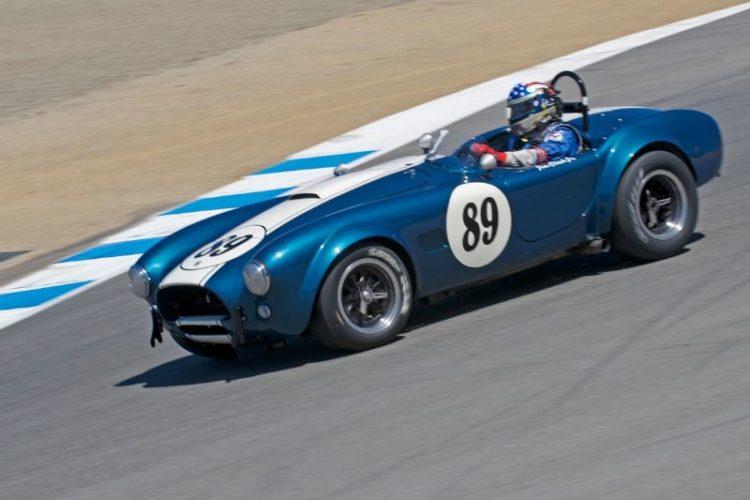 1964 Cobra 289 driven by Jim Glick.