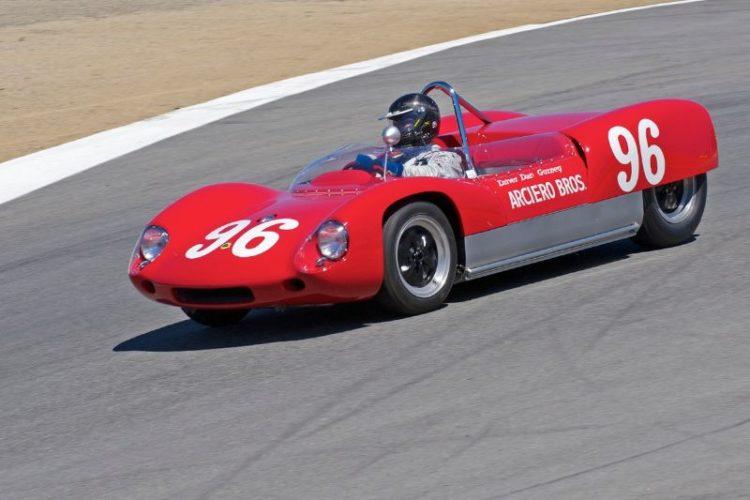 Dan Gurney's Lotus 19 Monte Carlo driven by Ryan Arcerio.