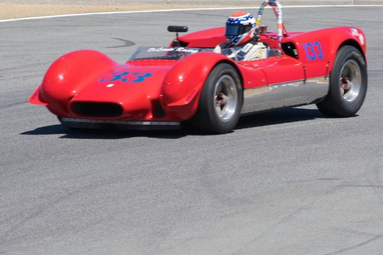 1961 Dolphon Sports racer driven by Joseph DiLoreto.