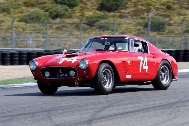 1961 Ferrari 250 GT SWB driven by Ned Spieker.