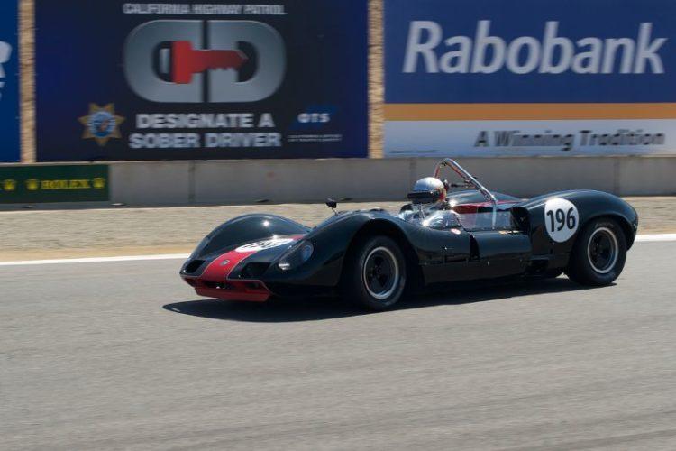Second place for Harindra de Silva's 1965 Elva MK8.