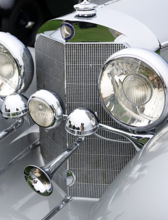 1936 Mercedes-Benz 500K Special Roadster, National Automobile Museum