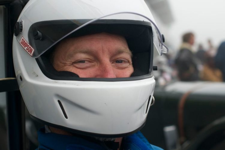 Kevin Pitts drove his Studebaker Indy Car in group 1B.