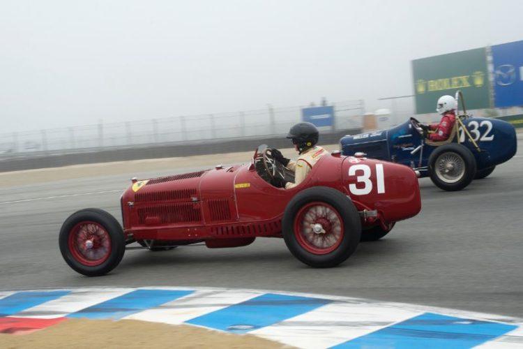 1930 Alfa Romeo Tipo B P3 of Peter Giddings