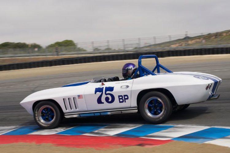 Second place for Terry Gough's 1965 Chevrolet Corvette.