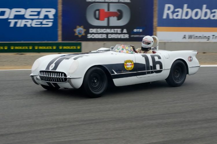 Second place went to Noel Park in a 1955 Chevrolet Corvette.
