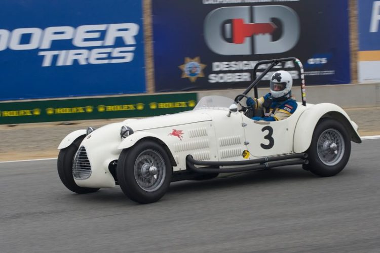 First place went to John Buddenbaum in his 1949 Parkinson Jaguar Special.