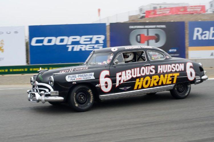 1951 Hudson Hornet driven by Najeeb Kahn.