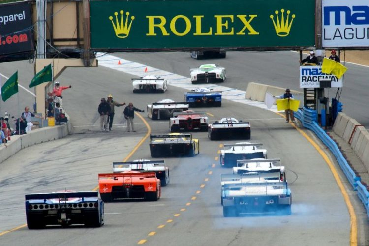 Start of the group 9A qualifying race.