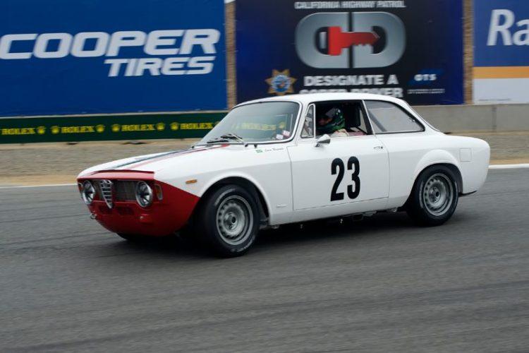 Andre Lara Resende's 1965 Alfa Romeo GTA.