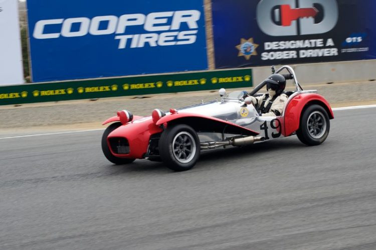 Third in Group 5B for the Lotus Super 7 of Marc Nichols.