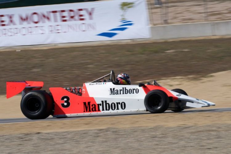 1979 McLaren M29 driven by Chuck McConnell.
