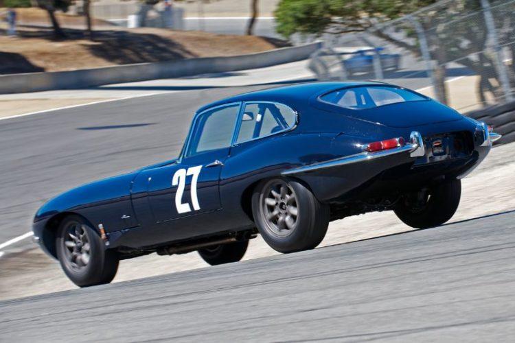Julian Walters Masters in the 1962 Jaguar E Type.