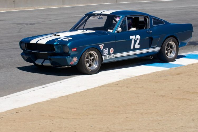 Jonathan Ornstein's 1966 Shelby GT 350.