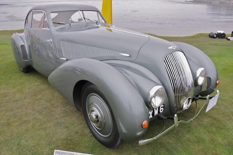 "1938 Bentley 4 1/4 Litre ""Embericos"" Pourtout Coupé"