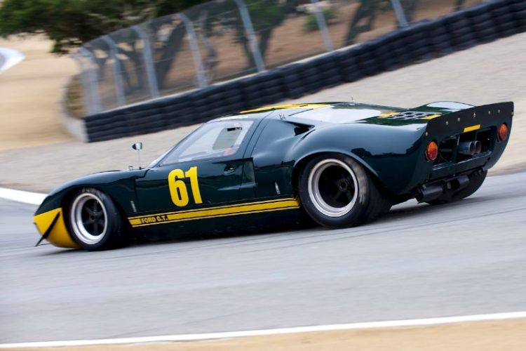 1966 Ford GT 40 driven by Jim Click.