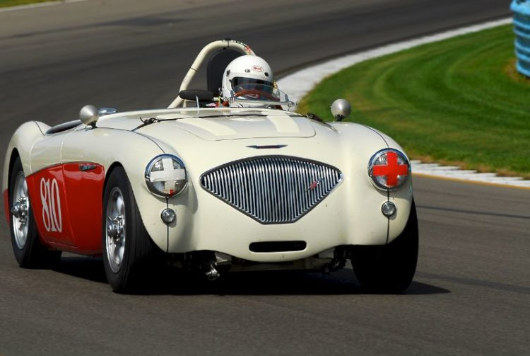 1954 Austin Healey 100M- Bruce Earle.
