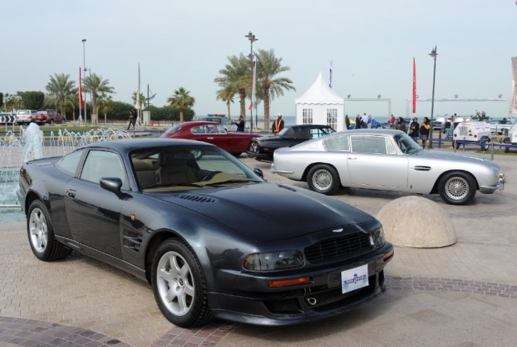 Aston Martin display