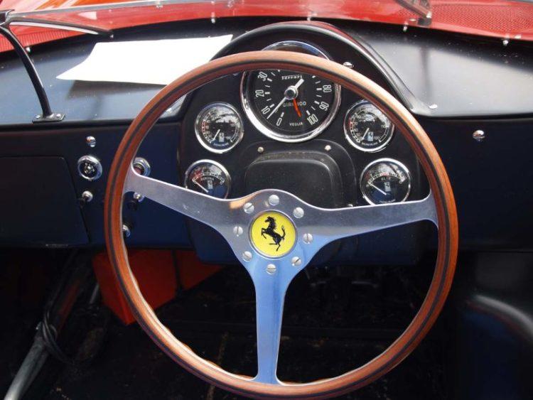Instruments of the Ferrari 248 SP