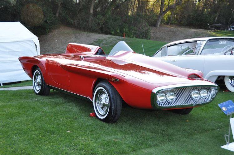 1960 Plymouth XNR Concept - Karim Eddie