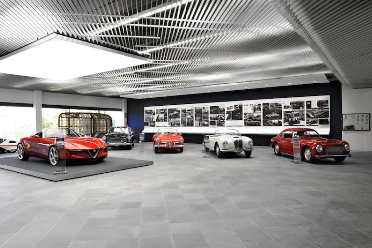 Cisitalia 202 headlines Pininfarina exhibit