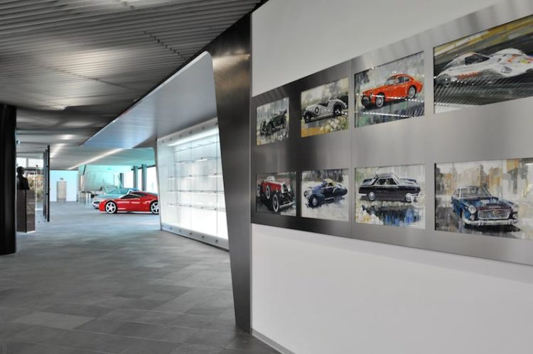 Pininfarina Exhibit at National Automobile Museum of Turin