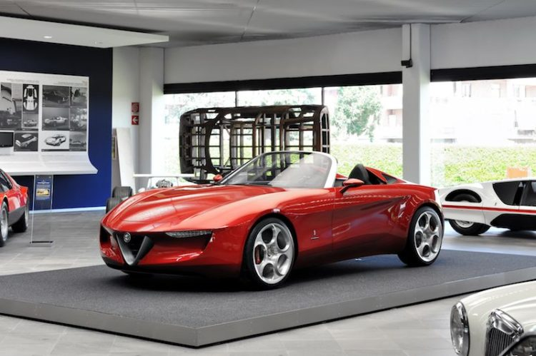 Alfa Romeo Spider Pininfarina Concept - 2uettottanta
