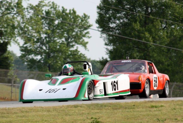 David Porter, 85 Swift DB2 leads Frank Beck, 72 Porsche 914/6