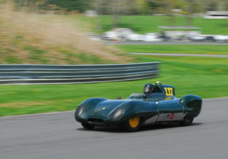 1959 Lotus XI- Dick Fryberger.