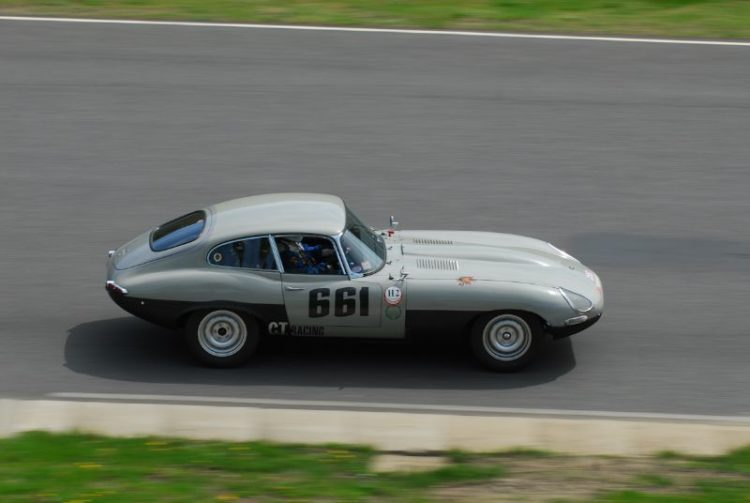 Don Moore 1966 Jaguar E-Type.