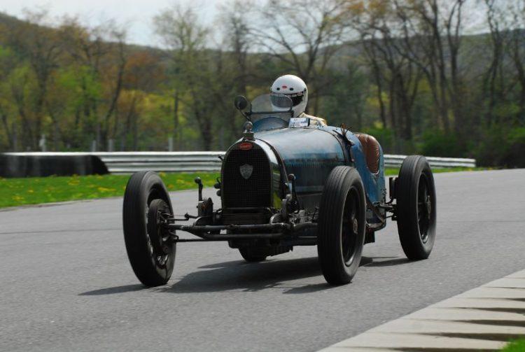 Sandy Leith- 1937 Bugatti Type 37.