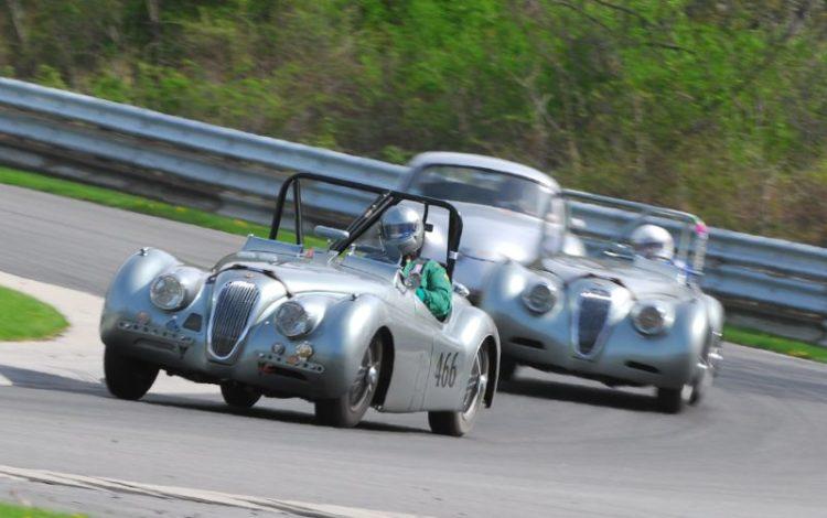 John Fuller Jaguar 1952 XK120.
