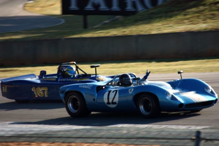 Brian Johnson, 65 Lola T70 points Richard Duffey, 85 Swift DB2 by.
